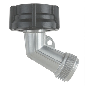 Gilmour Zinc Goose Neck Hose Connector