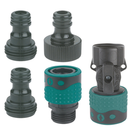 Gilmour 5-Piece Quick Connect Starter Kit with Shut-Off