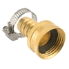 "Gilmour 5/8"" & 3/4"" Female Metal Clamp Hose Repair"
