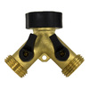 Gilmour Brass 2-Way Restricted-Flow Water Shut-Off