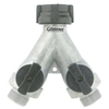 Gilmour Plastic 2-Way Full-Flow Water Shut-Off