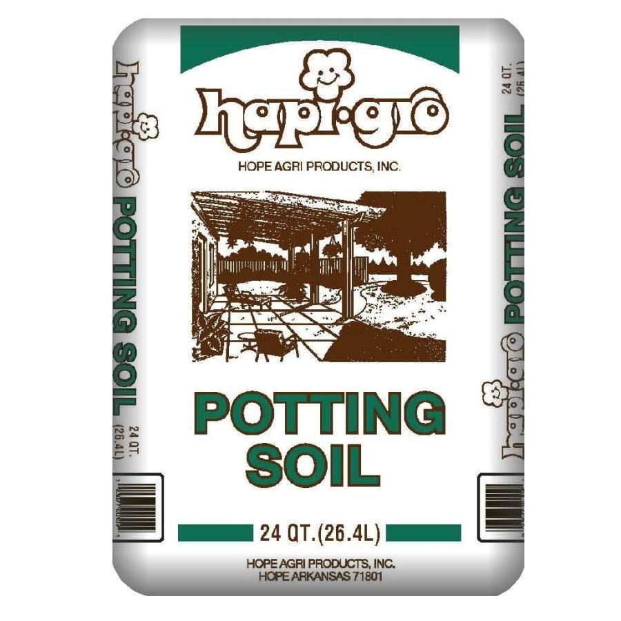 Shop hapi gro 24 quart organic potting soil at for Potting soil clearance