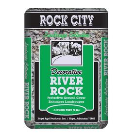 Rock City 0.5 cu ft River Rock