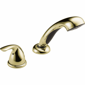Delta Polished Brass Classic 1-Spray Convertible Showerhead