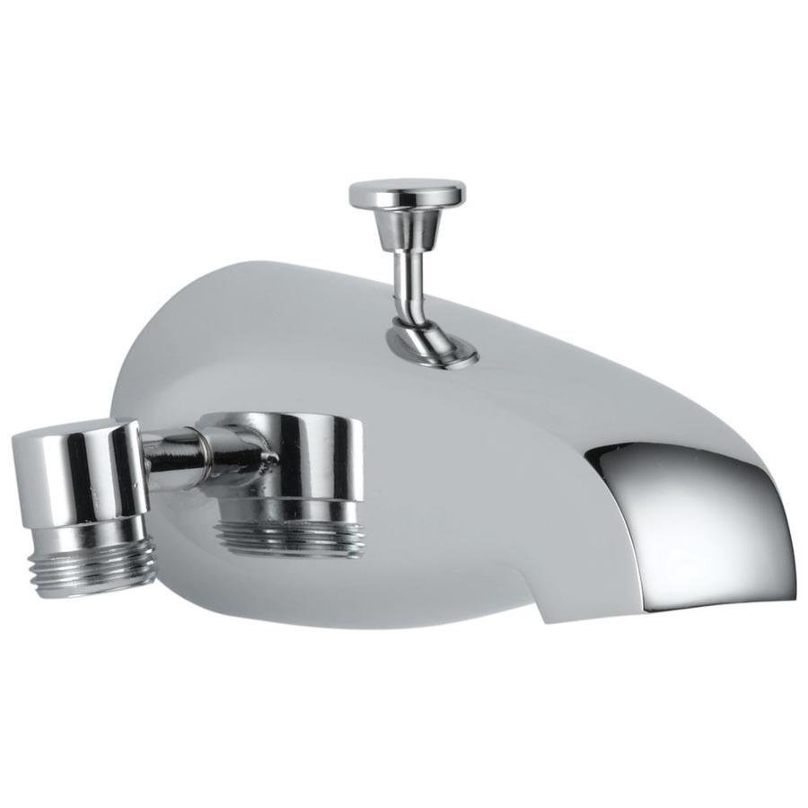 Shop Delta Chrome Tub Spout With Diverter At