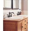 Delta Victorian Venetian Bronze 2-Handle Widespread WaterSense Bathroom Faucet (Drain Included)