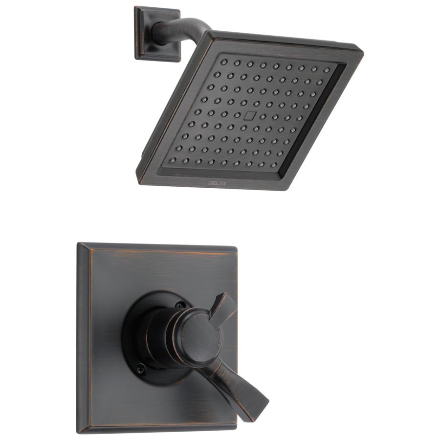 Shop Delta Dryden Venetian Bronze 1 Handle Shower Faucet Trim Kit With Rain S