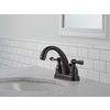 Delta Windemere Oil-Rubbed Bronze 2-Handle 4-in Centerset WaterSense Bathroom Faucet (Drain Included)