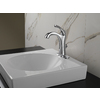 Delta Addison Chrome 1-Handle 4-in Centerset WaterSense Bathroom Faucet (Drain Included)