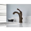 Delta Addison Venetian Bronze 1-Handle 4-in Centerset WaterSense Bathroom Faucet (Drain Included)