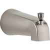 Delta 5-3/8-in Nickel Tub Spout with Diverter