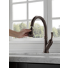 Delta Savile Venetian Bronze 1-Handle Pull-Down Kitchen Faucet
