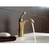 Delta Addison Champagne Bronze 1-Handle 4-in Centerset WaterSense Bathroom Faucet (Drain Included)