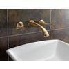 Delta Addison Champagne Bronze 2-Handle Widespread WaterSense Bathroom Faucet (Drain Included)