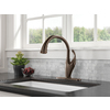 Delta Addison Touch2O Venetian Bronze 1-Handle Pull-Down Touch Kitchen Faucet
