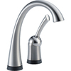 Delta Pilar Waterfall Arctic Stainless 1-Handle Bar Faucet