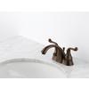 Delta Talbott Venetian Bronze 2-Handle 4-in Centerset WaterSense Bathroom Faucet (Drain Included)