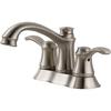 Delta Nura 2-Handle 4-in Centerset WaterSense Bathroom Faucet (Drain Included)