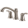 Delta Nura Stainless 2-Handle Widespread WaterSense Bathroom Sink Faucet (Drain Included)
