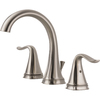 Delta Celice Stainless 2-Handle Widespread WaterSense Bathroom Sink Faucet (Drain Included)