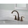 Delta Celice Venetian Bronze 2-Handle Widespread WaterSense Bathroom Faucet (Drain Included)