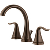 Delta Celice Venetian Bronze 2-Handle Widespread WaterSense Bathroom Sink Faucet (Drain Included)