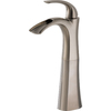 Delta Nyla Stainless 1-Handle Single Hole WaterSense Bathroom Sink Faucet (Drain Included)