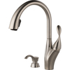 Delta Berkley Stainless 1-Handle Pull-Down Sink/Counter Mount Kitchen Faucet