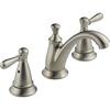 Peerless Traditional Brushed Nickel 2-Handle Widespread WaterSense Bathroom Faucet (Drain Included)