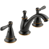 Peerless Traditional Oil-Rubbed Bronze 2-Handle Widespread WaterSense Bathroom Sink Faucet (Drain Included)