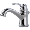 Delta Nura Chrome 1-Handle 4-in Centerset WaterSense Bathroom Faucet (Drain Included)