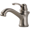 Delta Nura Stainless 1-Handle 4-in Centerset WaterSense Bathroom Faucet (Drain Included)