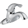 Delta Classic Chrome 1-Handle 4-in Centerset WaterSense Bathroom Sink Faucet (Drain Included)
