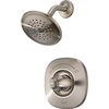 Delta Nura Stainless 1-Handle Shower Faucet with Single-Function Showerhead