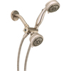 Delta Satin Nickel 6-Spray Convertible Shower Massager