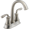 Delta Lorain 2-Handle 4-in Centerset WaterSense Bathroom Faucet (Drain Included)