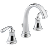 Delta Lorain 2-Handle Widespread WaterSense Bathroom Faucet (Drain Included)
