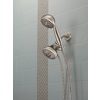 Delta 4-in Brushed Nickel Showerhead with Hand Shower