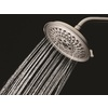 Delta H2Okinetic 8-in 2.0-GPM (7.6-LPM) Brushed Nickel 3-Spray Showerhead