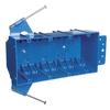 CARLON 55-cu in 4-Gang Plastic New Work Wall Electrical Box