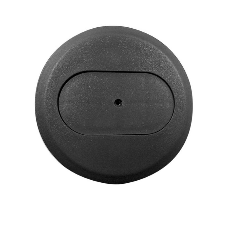 Shop CARLON 1 Gang Round Plastic Electrical Box Cover At