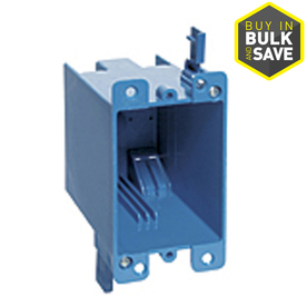 CARLON 1-Gang Old Work Switch And Outlet Box