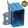 CARLON 21 cu in 1-Gang Adjustable Plastic Electrical Box