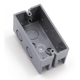 CARLON 8-cu in 1-Gang Plastic Handy Wall Electrical Box