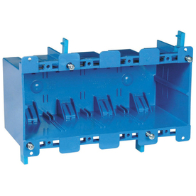 CARLON 68-cu in 4-Gang Plastic Old Work Wall Electrical Box