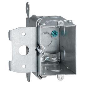 CARLON 1-Gang Metal Adjustable Electrical Box