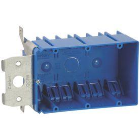 CARLON 49-cu in 3-Gang Plastic Adjustable Wall Electrical Box