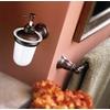 Moen Kingsley Oil-Rubbed Bronze Single Towel Bar (Common: 24-in; Actual: 26.22-in)