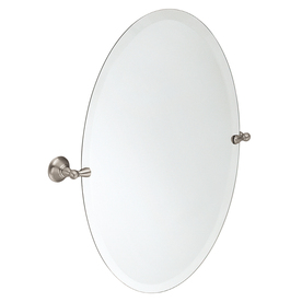 Moen Sage Nickel Zinc Wall-Mounted Vanity Mirror