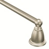 Moen Brantford Brushed Nickel 24-in Towel Bar